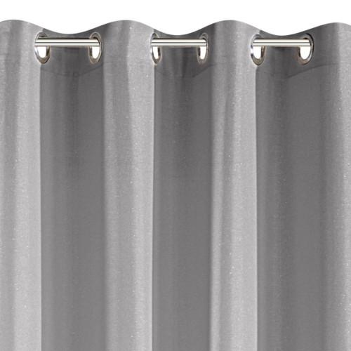 Zasłona Gotowa Eurofirany 140x250 Alena Srebrny
